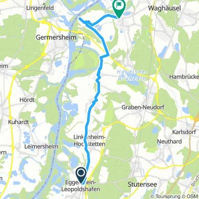Etappe 2 A`bräu - Rheinsheim - Philippsburg