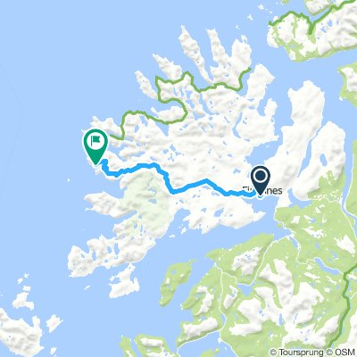Finnsnes to Grunnfarnes