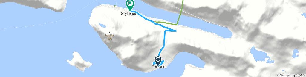 Torsken to Gryllefjord Ferry