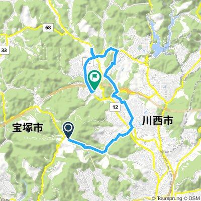 Inagawa-Kawanishi River side cycling