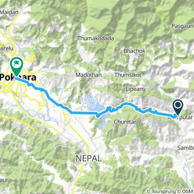 Nepal 7: Bhorletar - Pokhara