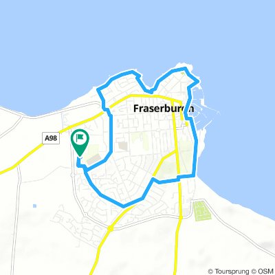 Monday Route In Fraserburgh