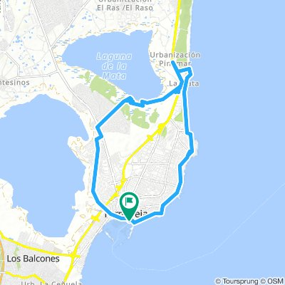 Cycling Routes And Bike Maps In And Around Torrevieja Bikemap