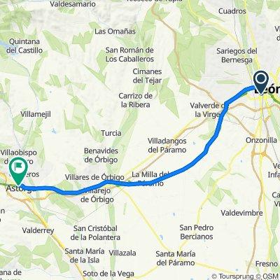 SdC_2021_Tag1_León nach Astorga