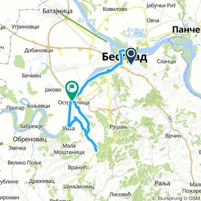 Ruta stari Obrenovački put