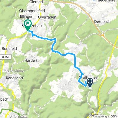 Thalhausen - Jahrsfeld 10.6 km