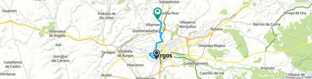 Acceso De Burgos a Via Verde Santander-Mediterraneo (Direccion Norte)