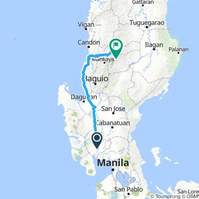Pampanga to Banaue via Bessang Pass