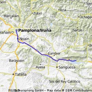 17 Embalse de Yesa - Pamplona