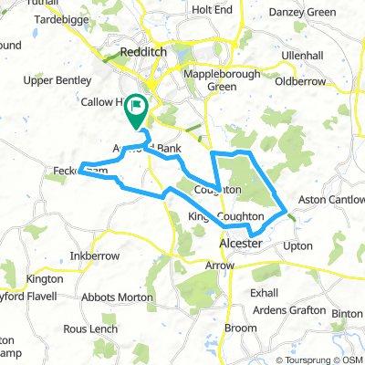 20 miler Feckenham Alcester Spernal
