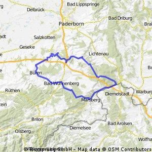 NRW Hessen Runde/ Diemel/Aabach/Alme