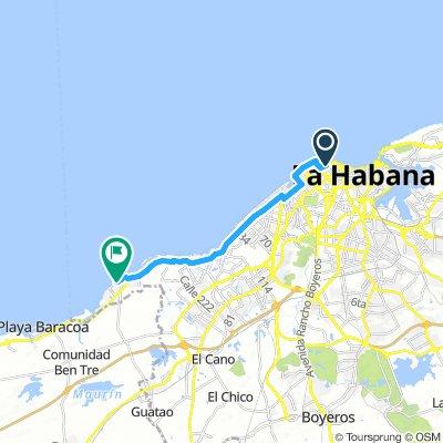 Cuba_Havana to Baracoa route