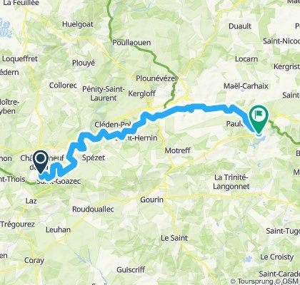Bretagne 3.Tag Brest - Nantes (Donnerstag)
