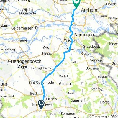Wyprawa rowerowa Holandia 2019 - Etap nr 1