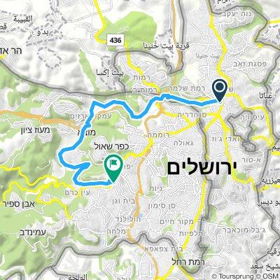 Wadi Tsofim - Arazim Valley - Beit Zayit - En Karim