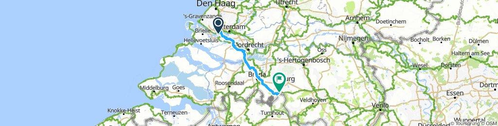 Wyprawa rowerowa Holandia 2019 - Etap 5
