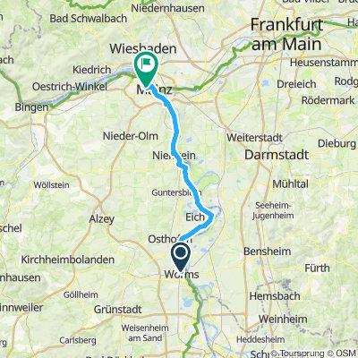 *4. nap Worms-Mainz
