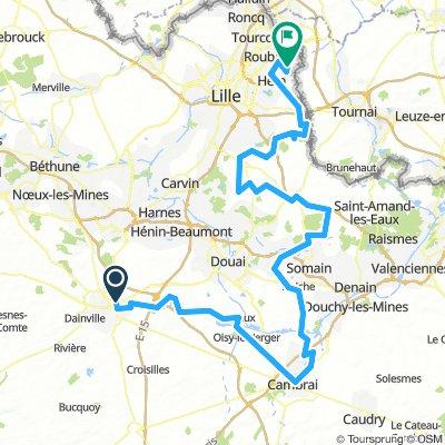 Arras Citadelle - Roubaix
