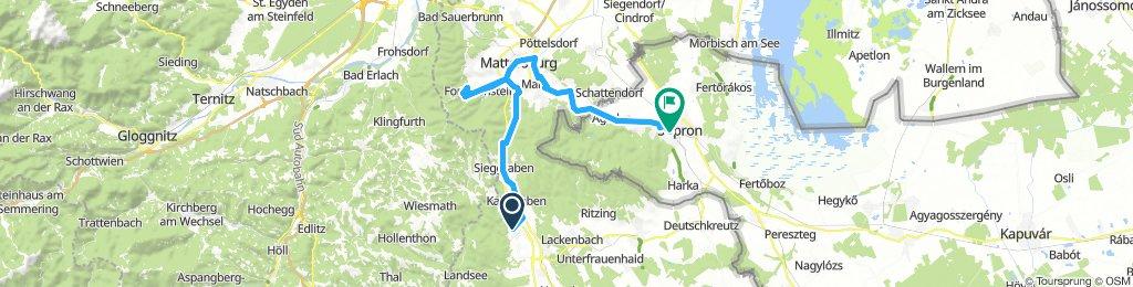 Burgenlandi végvárak kerékpáron 5