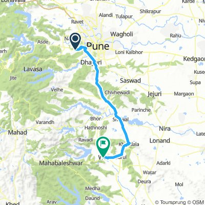 Forest Trail Pune to Wai 90KM