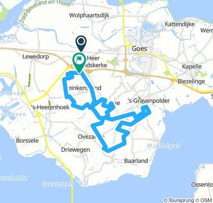 MTB Heinkenszand / Borselle Route 42KM