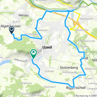 Spred Out Samstag Ride In Oberuzwil