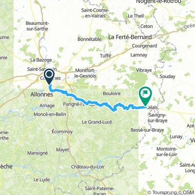 Le Mans - Camping de Sargé sur Braye
