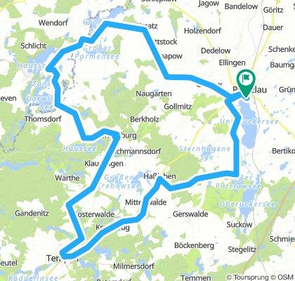 RTF 115 km Prenzlauer Hügelmarathon 2018