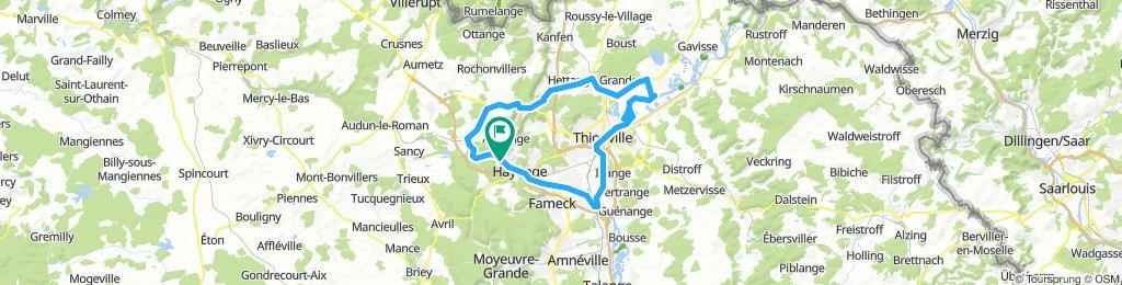 autours de Thionville