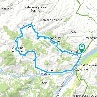 Felegara - Pellegrino Parmense - Valico Sant'Antonio - S. Andrea Bagni (Parma)