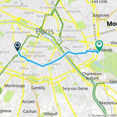 Gare Montparnasse > Maison