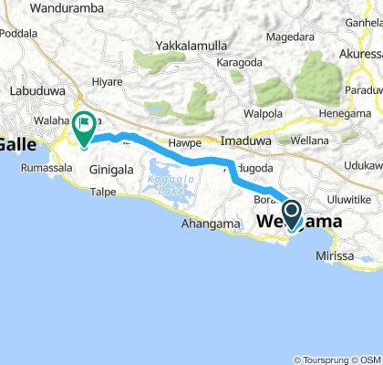 weligama inland
