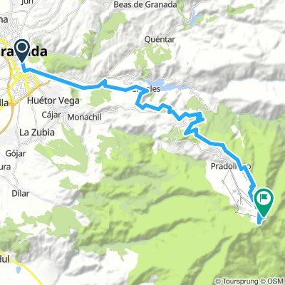 Granada-Pico Veleta