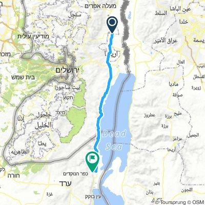 Izrael dz 9 Al Auja- Masada