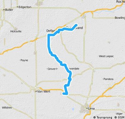 Napoleon to Delphos Buckeye Trail