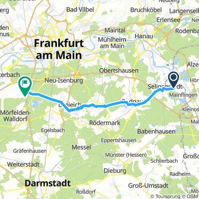 Klein-Welzheim nach FRA CCS