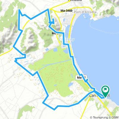 Mallorca: Can Picafort-puig de Sant Martí-s'Albufera-Can Picafort