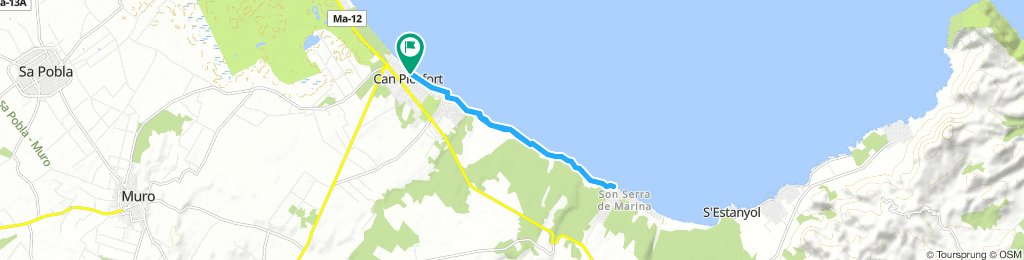 Mallorca a peu: Can Picafort-Son Serra de Marina-Can Picafort