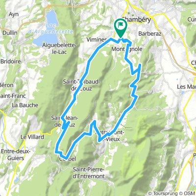 Col du Granier - Cluse - Egaux