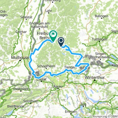 Sudschwarzwald Radweg