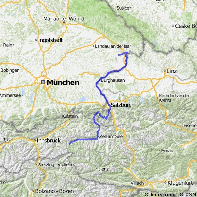 2010er Tour Krimml-Passau