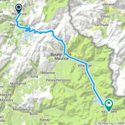 [2.6] Hauteluce ---> Val D'Isère