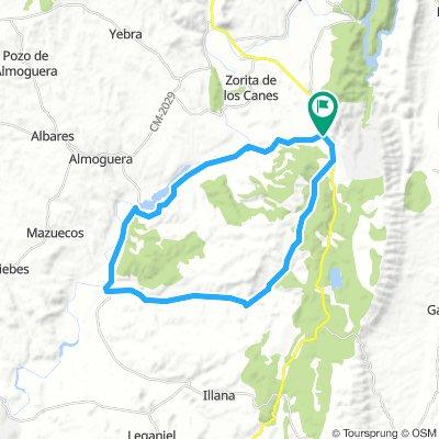 Albalate de Zorita 37km