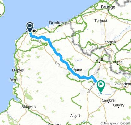 Calais to Arleux