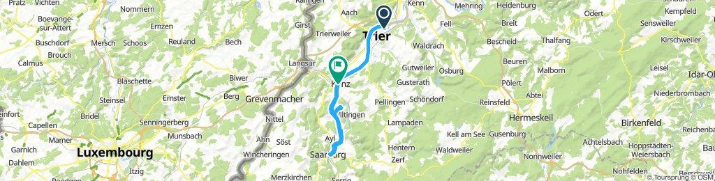 Trier - Saarburg - Konz