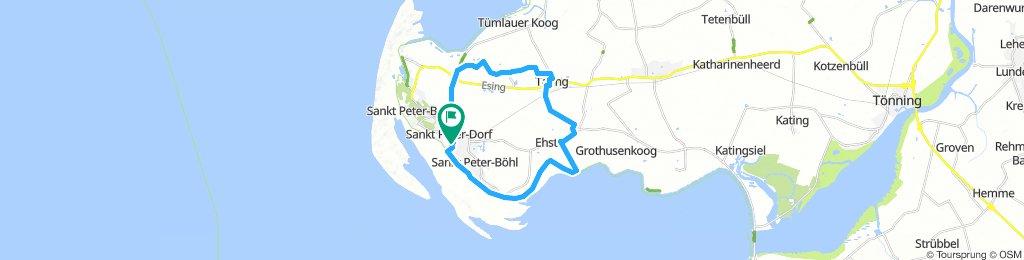 2x-Nordseeküstenradweg-auf-Eiderstedt
