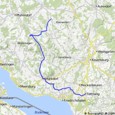 Tettnang => Markddorf = Deggenhausertal => Riedhausen