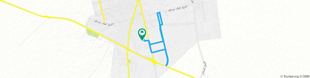 Long Afternoon Track In Hafar Al-Batin