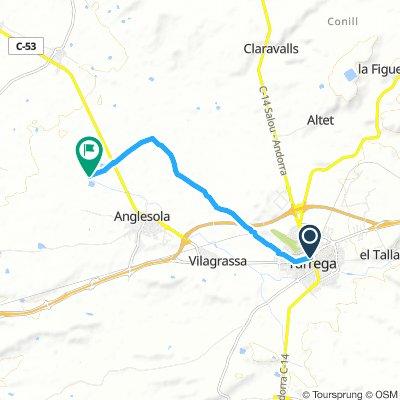 CyC 117-119 Tarrega a Canal d'Urgell amb sequia segona (Anglesola)
