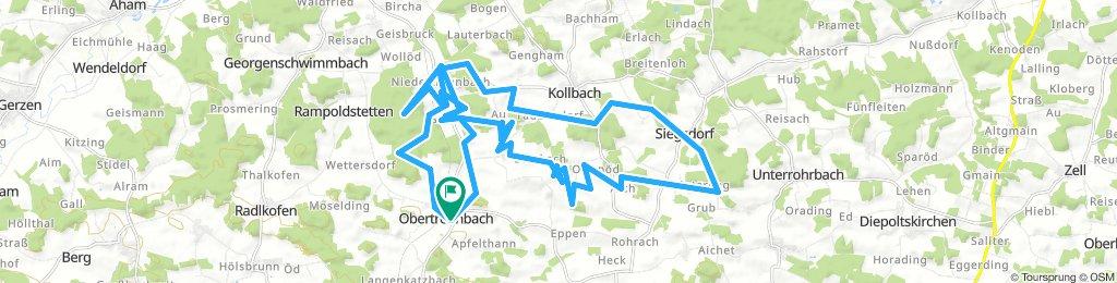 Kapellentour um Obertrennbach